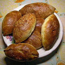 ロシアの焼きピロシキ