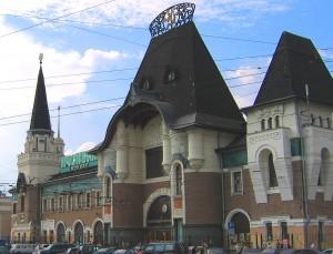 モスクワ、ヤロスラフスキー駅