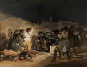 ゴヤ、マドリードの虐殺