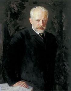 チャイコフスキーの肖像画、クズネツォフ画、