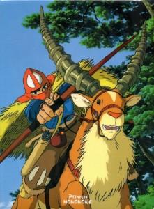 馬とヤックル