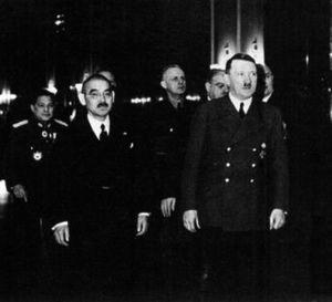 ヒトラーと松岡洋右